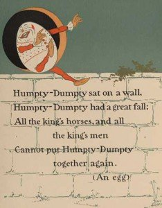 Humpty Dumpty 1   WW Denslow   Project Gutenberg etext 18546 234x300 Some innocent times can be recaptured
